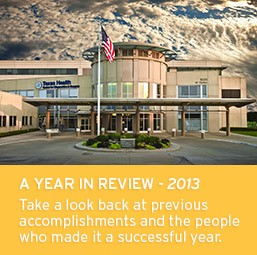 A Year in Review - 2013, Take a look back at previous accomplishments and the people who made it a successful year.