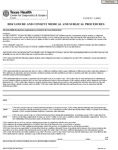Disclosure and Consent Form