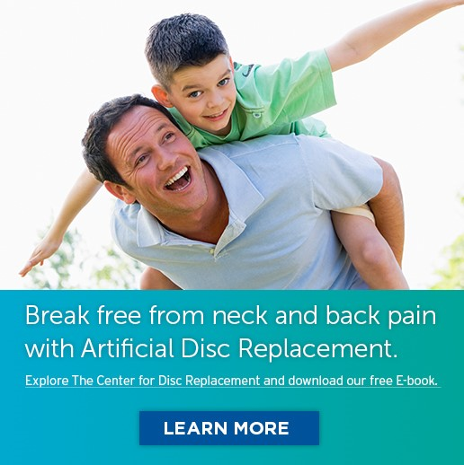 Explore The Center for Disc Replacement and Download our Free E-book