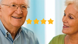 Five Star Ranking based on patient appraisals