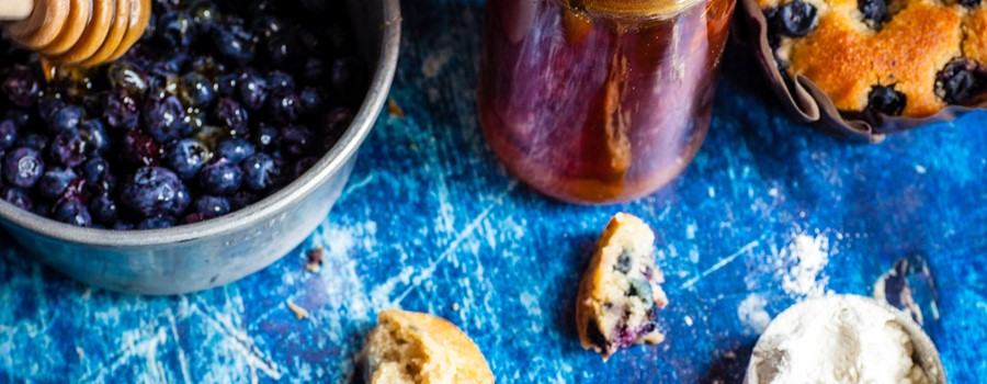 Almond Flour Blueberry Muffins: a Healthy Breakfast Treat